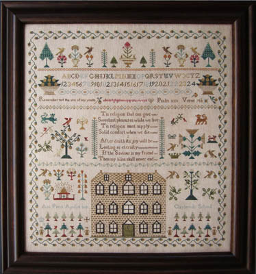 The Scarlett House Ann Priest 1841