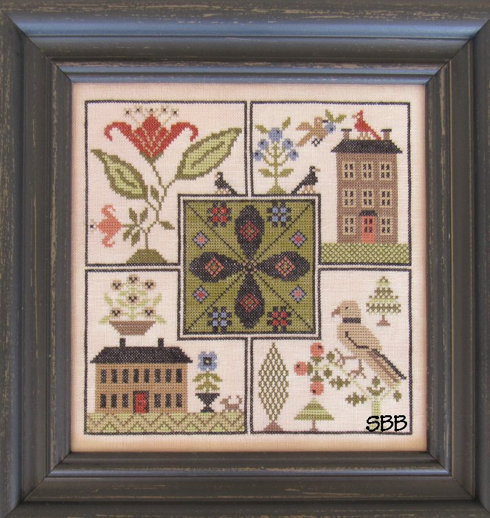 The Scarlett House  Center Point Sampler