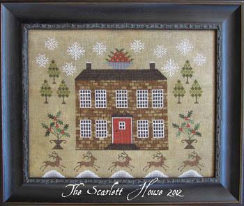 The Scarlett House Christmastide At Holly House