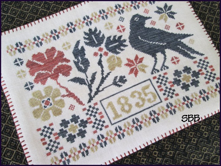 The Scarlett House  Coverlet Candle Mat
