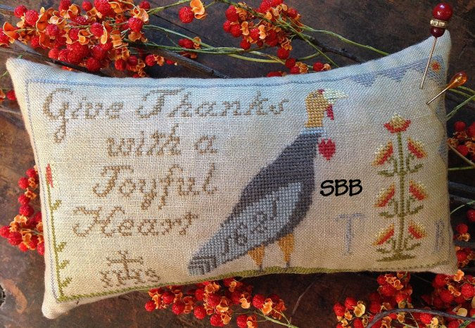 Scattered Seeds Samplers Hannah's Thankful Heart
