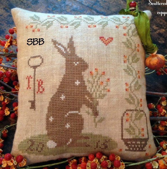 Scattered Seeds Samplers Humble Gatherings Pillow Tuck