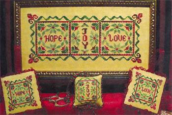 ScissorTail Designs Christmas Hope Joy Love