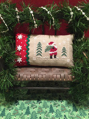 ScissorTail Designs  Santa At The Tree Farm