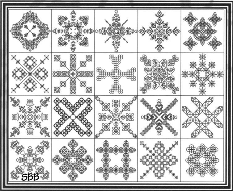 Seba Designs Biscornu Collection