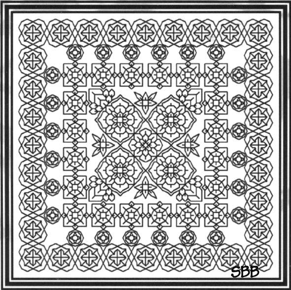 Seba Designs Blackwork Challenge 1