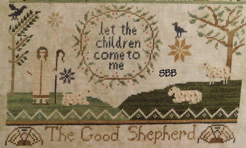 Shakespeare's Peddler Jenny Bean Parlor 4 ~ The Good Shepherd