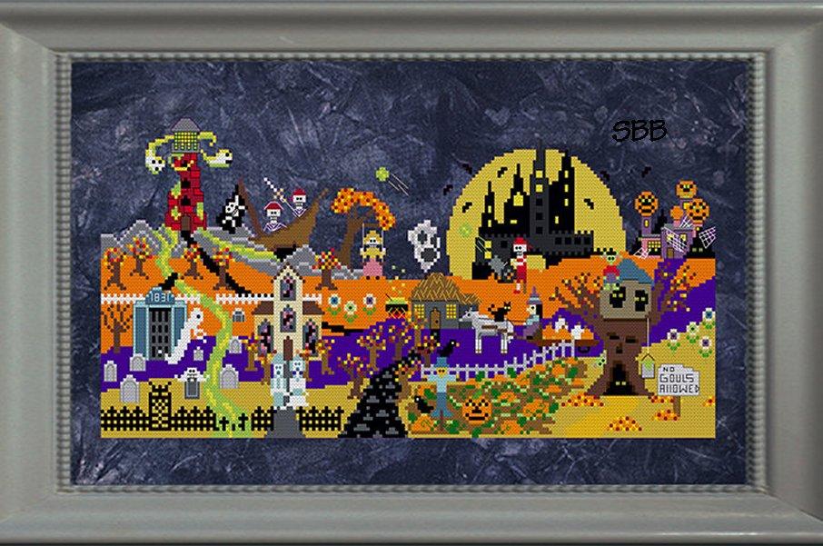 Ship's Manor Halloween Town