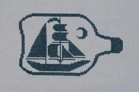 The Stitcherhood Bottled Boat