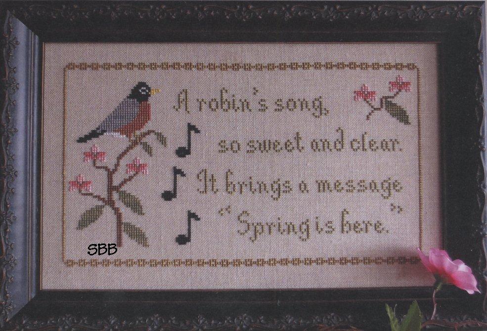 Stitches Through Time Bird Of Spring