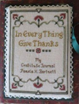 Stitches Through Time My Gratitude Journal