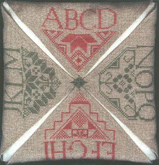 The Stitching Parlor A-Q Quaker Pillow