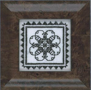 The Stitching Parlor Blackwork Treasure Box