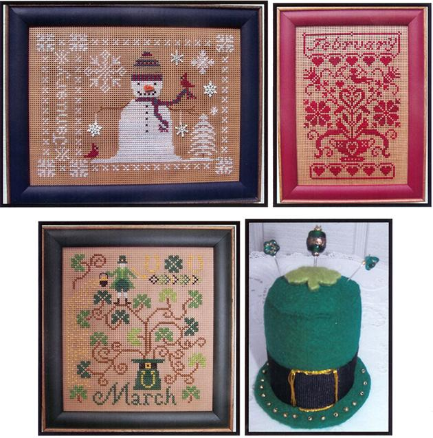The Stitching Parlor Celebrate January-February-March