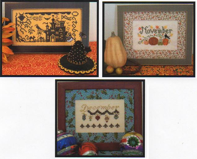 The Stitching Parlor Celebrate October-November-December