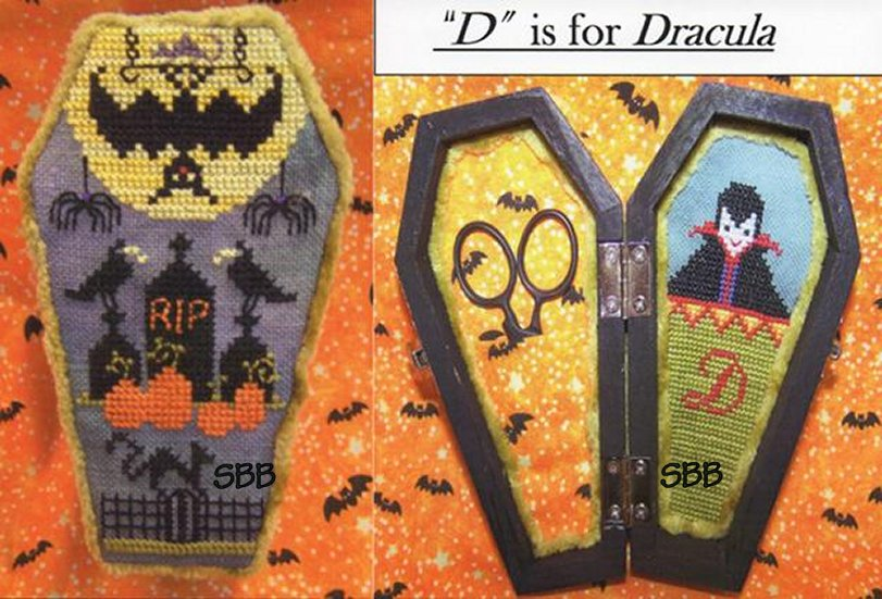 The Stitching Parlor D Is For Dracula