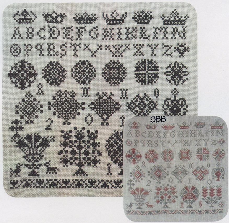 Stitchy Box Samplers Vierlande Sisters #1 - Bertie