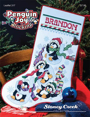 Stoney CreekPenguin Joy Stocking