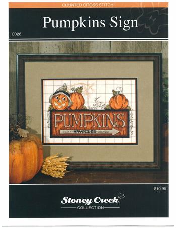 Stoney Creek Pumpkin Sign