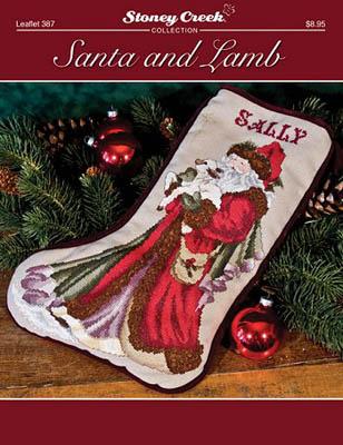 Stoney Creek Santa And Lamb