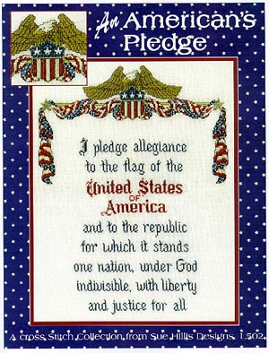 Sue Hillis Designs An American's Pledge