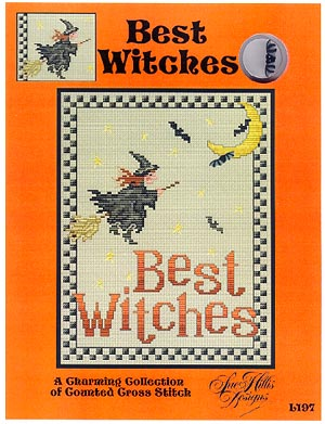 Sue Hillis Designs Best Witches with Charm