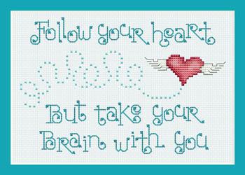 Sue Hillis Designs Follow Your Heart