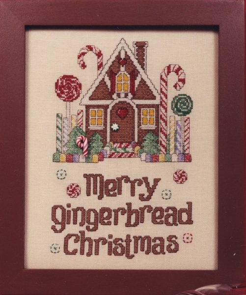 Sue Hillis Designs Gingerbread Cottage with Charms