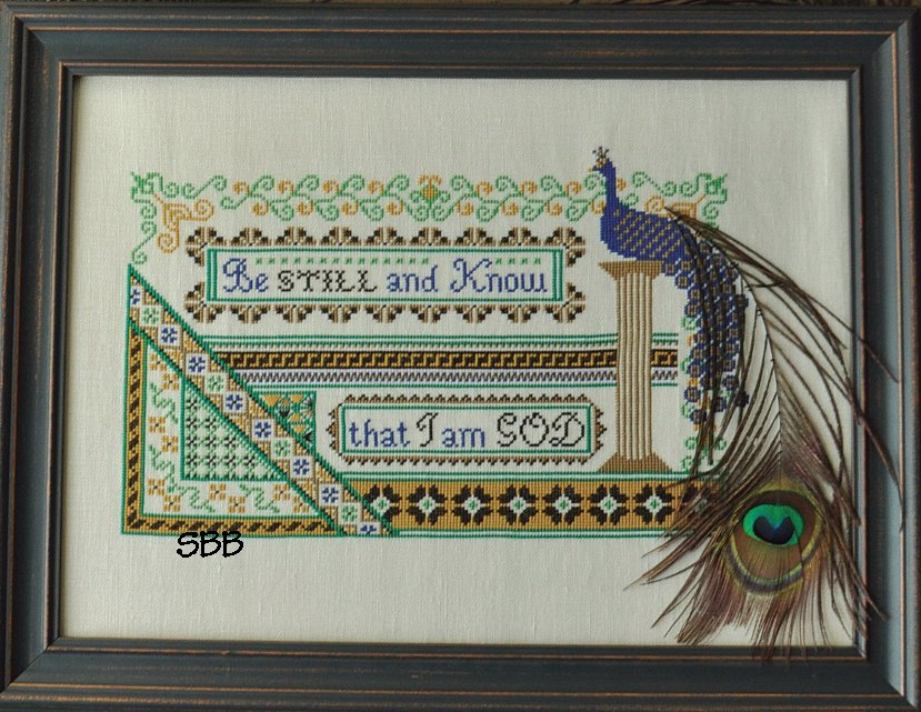 Summer House Stitche Workes Limited EditionIncludes Peacock Feather!