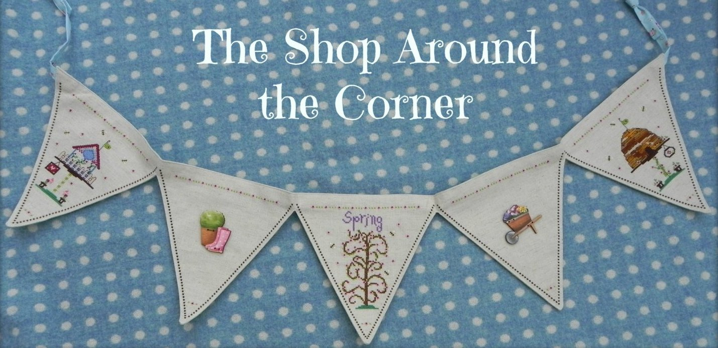 The Shop Around The Corner Bunting Spring