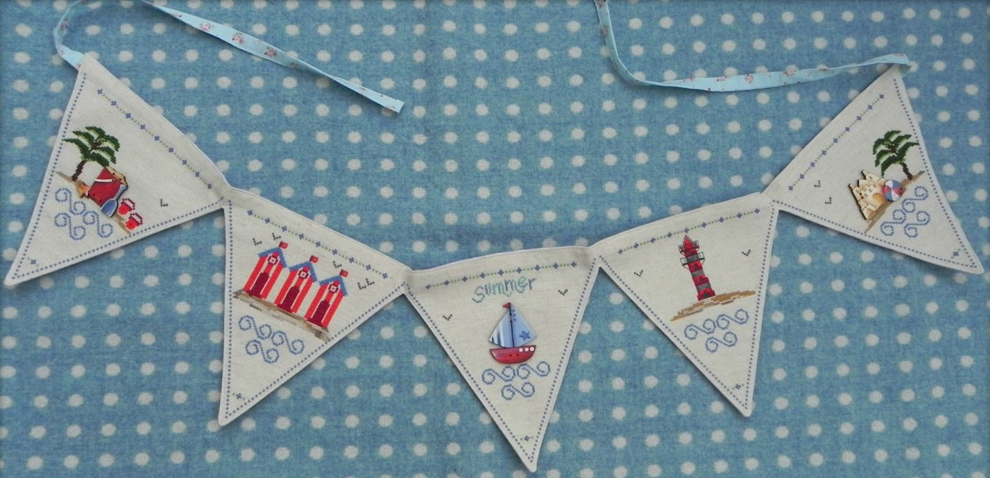 The Shop Around The Corner Bunting Summer