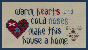 The Stitchworks Warm Hearts - Cold Noses