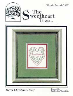 Clearance The Sweetheart Tree Teenie Tweenie SV-T37 Merry Christmas Heart