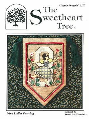 Clearance The Sweetheart Tree Teenie Tweenie SV-T117 Nine Ladies Dancing