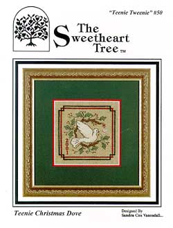 Clearance The Sweetheart Tree Teenie Tweenie SV-T50 Teenie Christmas Dove