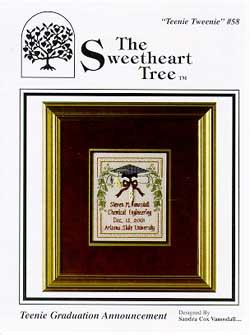 Clearance The Sweetheart Tree Teenie Tweenie SV-T58 Teenie Graduation Announcement