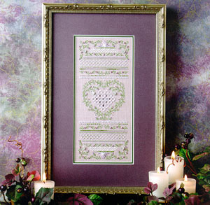 The Sweetheart Tree SV-060 Lovely in Lavender Sampler
