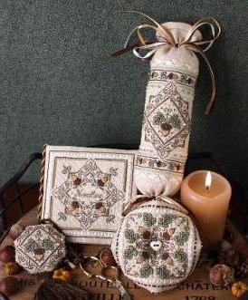 The Sweetheart Tree  SE24 Tiny Acorns Needlework With Embellishments