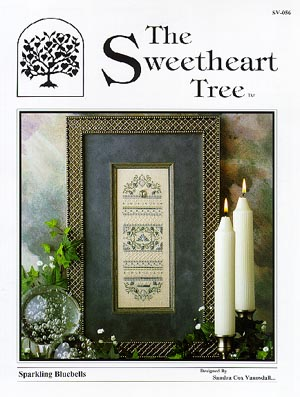 The Sweetheart Tree SV-056 Sparkling Bluebells Sampler