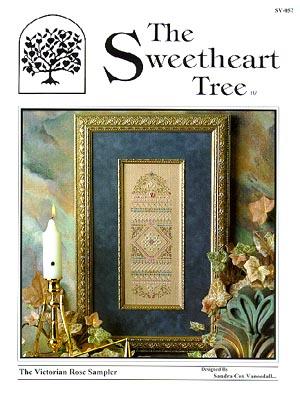 The Sweetheart Tree SV-057 Victorian Rose Sampler