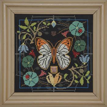 Tellin Emblem Butterfly In Bloom ~ Great Orange Tip