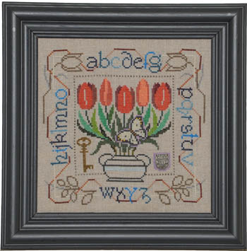 Tellin Emblem Potted Posies Sampler ~ Tulips