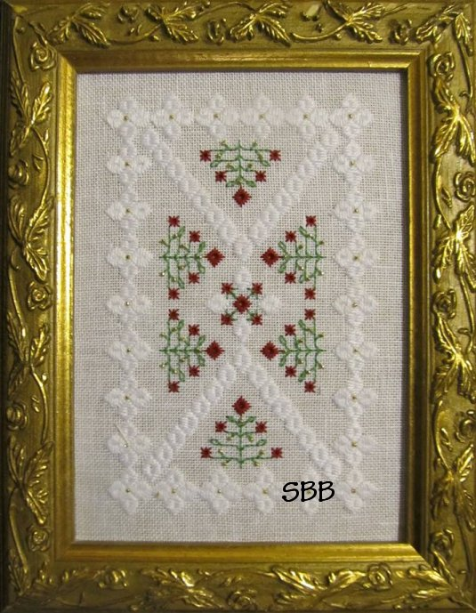 Terri Bay Needlework Designs Christmas Garden
