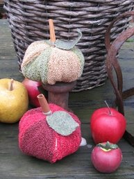 Thistles Applepunch Punchneedle