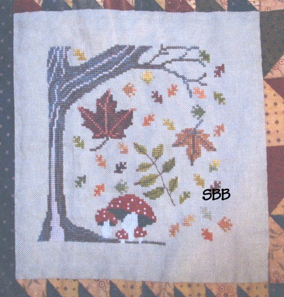 Thistles Autumn Splendor ~ Autumn Tree