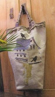 Thistles Birdhouse Bag