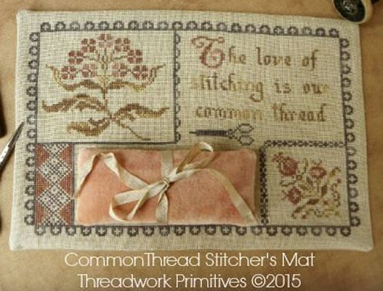 Threadwork Primitives Common Thread Stitcher's Mat
