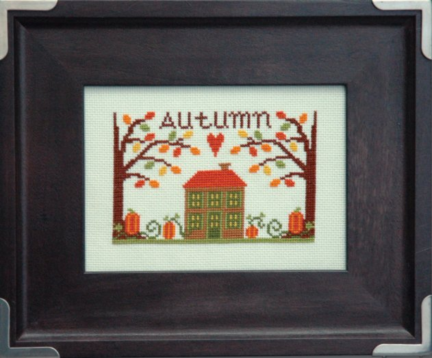 Tiny Modernist Inc. Autumn Leaves & Pumpkins
