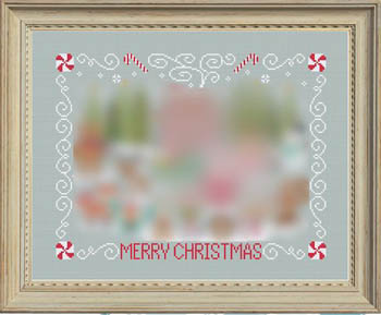 Tiny Modernist Inc.  Christmas Stitch A Long ~ Border