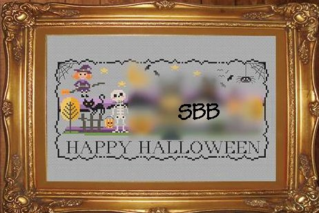 Tiny Modernist Inc.  Halloween Stitch A Long ~ Part 1